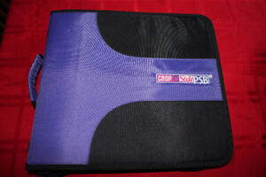Crop In Style Zippered scrapbook storage case