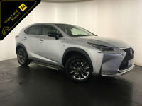 2015 LEXUS NX 300H F SPORT HYBRID AUTO 1 OWNER SERVICE HISTORY FINANCE PX