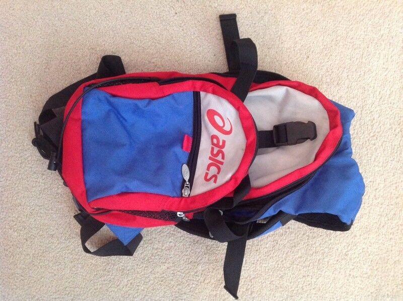 Asics Running Cycling Bag Rucksack