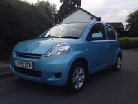 2009 DAIHATSU SIRION SE AUTOMATIC ONLY 21,000 GENUINE MILEAGE AUTO SAME AS A YARIS MICRA CORSA KIA