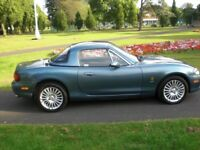 2005 MAZDA MX5 ARCTIC LIMITED EDITION CONVERTIBLE - HARD AND SOFT TOP
