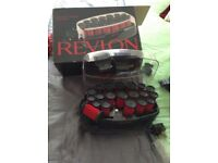 Revlon flock heated rollers