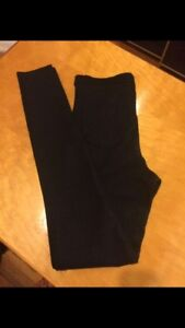 Navy Blue American Apparel High Waisted Pants