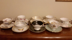 Aynsley, Paragon, Royal Chelsea, Stanley and Other Teacup Sets