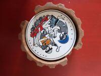 VINTAGE Greek inspired ceramic coasters