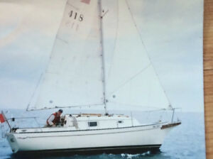 1980 BAYFIELD 25 POCKET CRUISER
