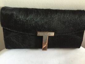 Ted Baker designer real pony hair purse