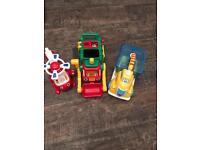 Three vehicles bundle