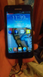 Rogers Samsung Galaxy S2. Works great.
