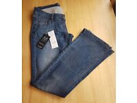 Womens Over the Bump Maternity Jeans Next 8R New