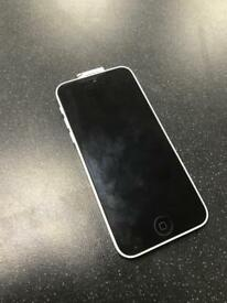 APPLE IPHONE 5C 16GB UNLOCKED WITH CHARGER AND EARPHONES BRAND NEW CONDITION
