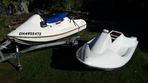 Personal watercraft - outboard
