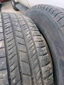 2 Goodyear Integrity All Seasons. 215 65 17