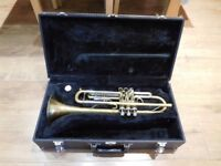 Bb trumpet, Jupiter STR 600 lacquer.