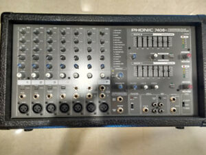 Phonic 740Plus Powerpod plus mixer