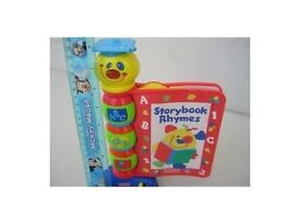 Electronic storybook rhymes by Fisher Price. Smoke free home. Fabulous condition.