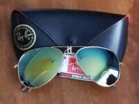 Ray ban aviator sunglasses new