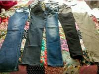 Women's size 12 jeans 32 leg.