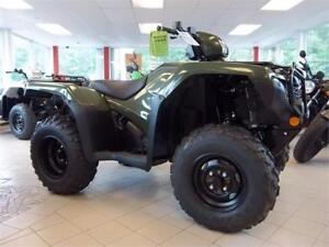 2017 Honda TRX500 Foreman 4x4 - $35 Weekly TAX IN ! - SAVE $800