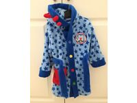 In the night garden dressing gown age 12-18 months