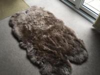 Brand new sheepskin rug IKEA needs new home ASAP!