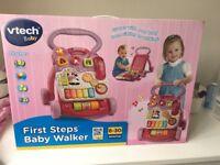 New, unopened baby walker