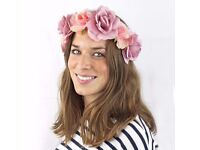 12 x Talking Tables Truly Scrumptious floral headbands 1 size fits all
