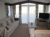 3 Bed Caravan with patio doors and balcony for rent at Craig Tara Mon 14th - 21st £540