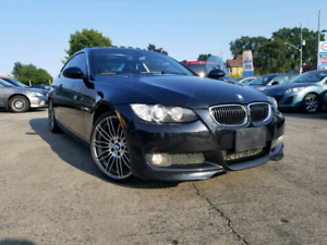 07 BMW 335I E92 COUPE RWD PADDLE SHIFTERS 123 500 KM