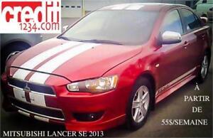 2013 Mitsubishi Lancer SE, à partir de 55$/semaine 100% approuvé