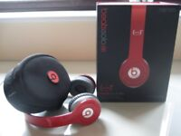GENUINE BEATS BY DRE SOLO HD HEADPHONES - BOXED - (Kirkby in Ashfield)