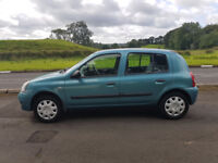 2007 RENAULT CLIO CAMPUS 1.2 73,000 MILES MOTED 15/10/2017 EXCELLENT CONDITION INSIDE AND OUT