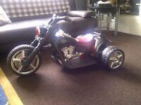 6v electric bike Harley style