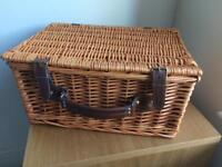 Picnic hamper in excellent condition - barely used.