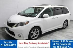 2014 Toyota Sienna SE SUNROOF! NEW TIRES! 7 PASSENGER!  $116/WK,