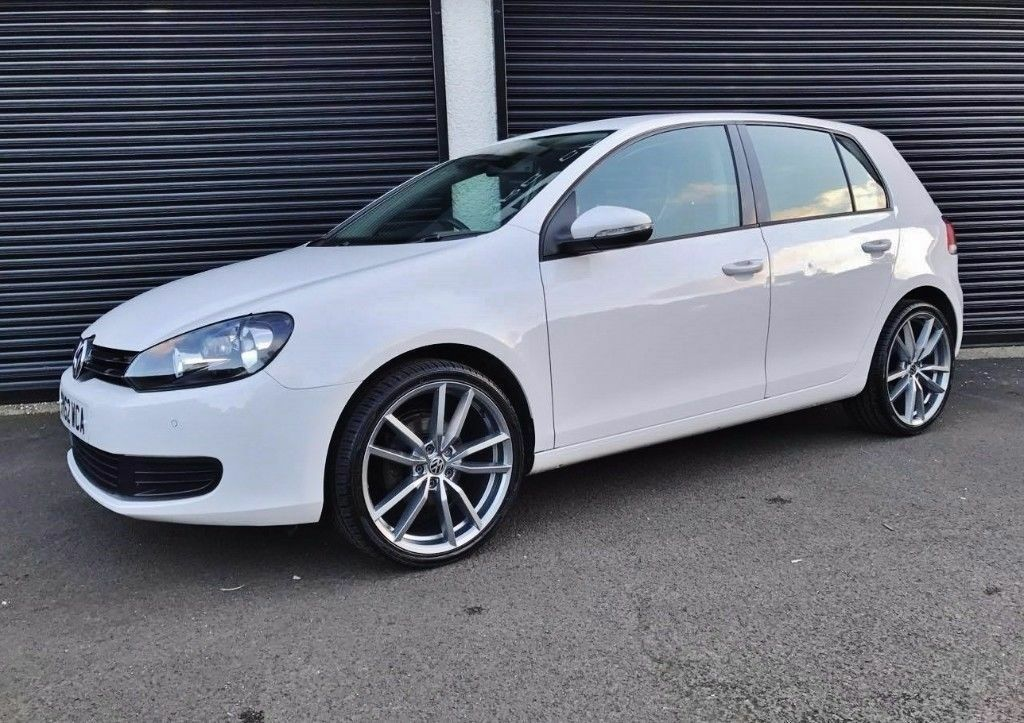 2012 volkswagen golf 1 6 tdi match white finance available in cullybackey county antrim gumtree. Black Bedroom Furniture Sets. Home Design Ideas