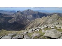 Hike/little trek in Isle of Arran (Goatfell)