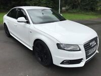Superb Looking 2009 A4 S-Line 2.7 Auto TDI 115000 Miles 8 Service Stamps HPI Clear Real Head Turner