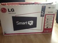 """LG 42"""" SMART LED TV FULL HD with SATELLITE HD and FREEVIEW HD £235"""