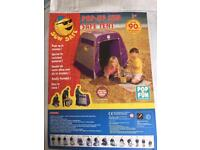 Baby sun tent / play tent