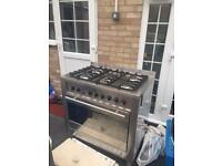 Ariston gas cooker for sale with 5Hobs including Oven, Grill & Hood. In & out very clean £250