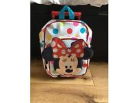 Small Minnie Mouse suitcase