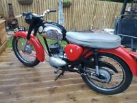 Vintage BSA Bantam Motorbike Excellent Condition!