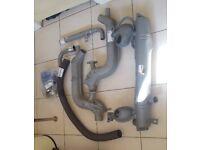 Campervan Heat exchanger with exhaust system complete