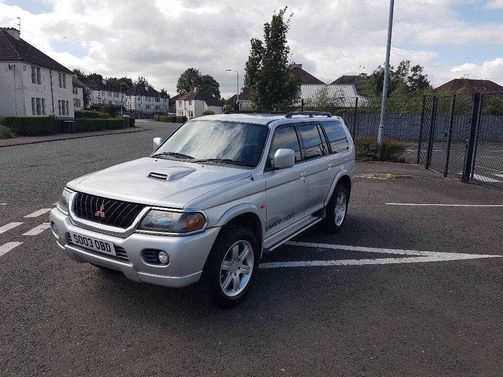 2018 mitsubishi shogun sport. wonderful 2018 2003 mitsubishi shogun sport warrior 25 td diesel 5 door 4x4  mot april  2018 on mitsubishi shogun sport