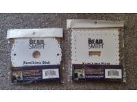 3 New Kumihimo Braiding Disks & Braiding Made Easy Book - Cords & Jewellery Making