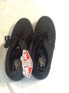 Womens Black Vans Shoes