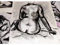 Life Drawing Group. Bournville, Birmingham