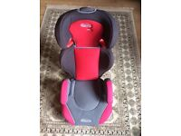 GRACO junior car seat/ booster