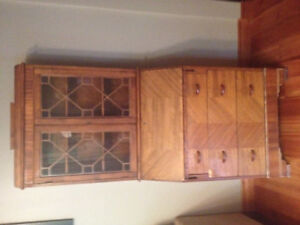 Antique Secretary Desk/Cabinet